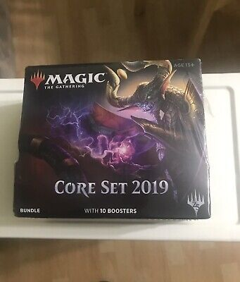 Magic the Gathering English Core Set 2019 MTG BUNDLE 10 Boosters FREE SHIPPING!