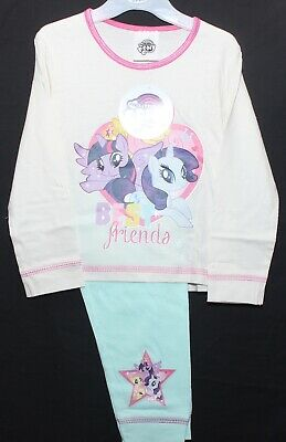 Girl's MY LITTLE PONY Pyjamas/100% Cotton MLP Long-Sleeved PJs 18 Months-4 Years