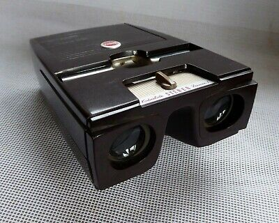 Kodaslide Bakelite Stereo Viewer 1. Boxed with some transparencies **REDUCED**
