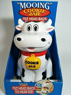 Vintage The Original Mooing Cookie Jar Collectable Rare 1992 | NEW
