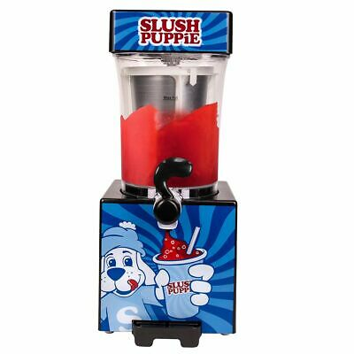 Original Ice Slush Puppie Machine Home Blue Slushy Making Syrups Flavours Cream