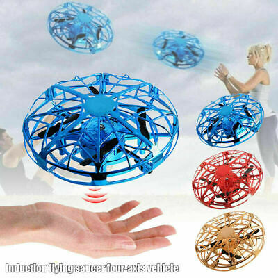 Mini Drones 360° Rotating Smart Mini UFO Drone for Kids Flying Toys Xmas Gift US