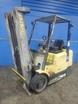 Hyster S50Xm Propane Forklift 4450#   11190610001