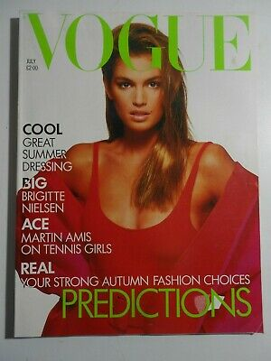 VOGUE / July 1988 / MINT COPY/ FREE GIFTWRAP/ More MINT issues in our shop