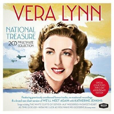 Vera Lynn National Treasure The Ultimate Collection NEW 2CD Collectors edition