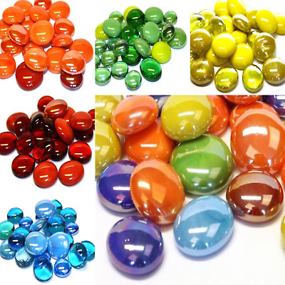 Glass Nuggets Mosaic tiles for arts and crafts - Various Colours