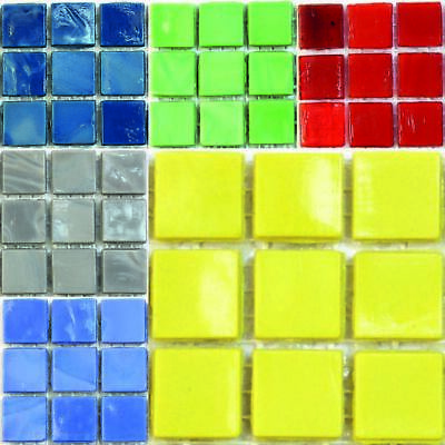 Element 15mm Mosaic tiles for arts and crafts - Various Colours