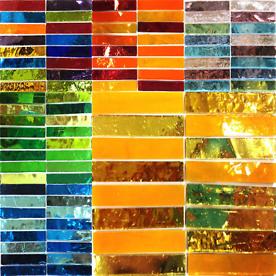 Mirror Slivers Mosaic tiles for arts and crafts - Various Colours