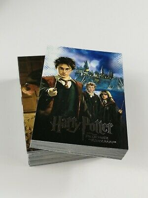 Artbox Harry Potter Prisoner Of Azkaban Trading Card Complete Set of 90