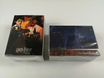 Harry Potter Goblet of Fire - Complete Base + Update Set - 180 Trading Cards