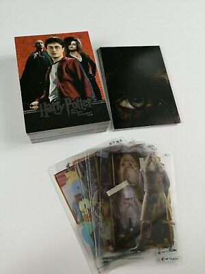 Harry Potter Deathly Hallows Part 2 - Set 54 Trading Cards + 18 Rare Chase Cards
