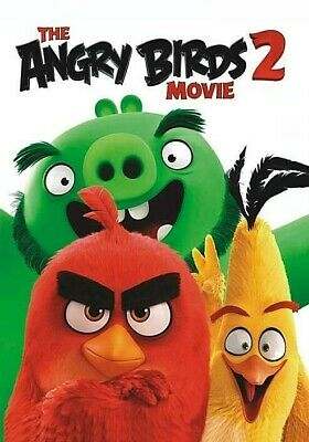 The Angry Birds 2 Movie Dvd Brand New Sealed 2019