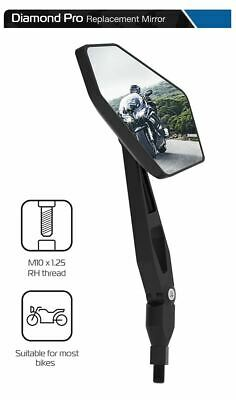 Left /& Right Mirrors Black 10mm x2pcs 584710 Honda XL 700 V Transalp 2008-2010