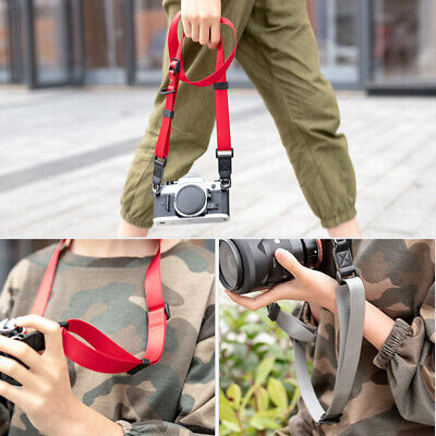 Quick Release Nylon Shoulder Belt Strap For SLR DSLR Canon Sony Nikon Cameras