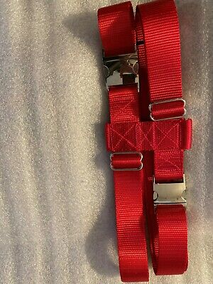 1.5 Inch Pig Harness 2 Balanced Buckles The Big Hog With or Without Heavy Leash