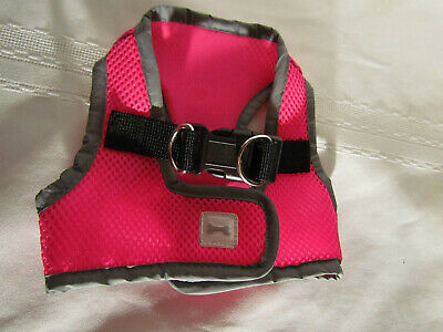 Simply Dog Body Harness Vest Size XS Hot Pink