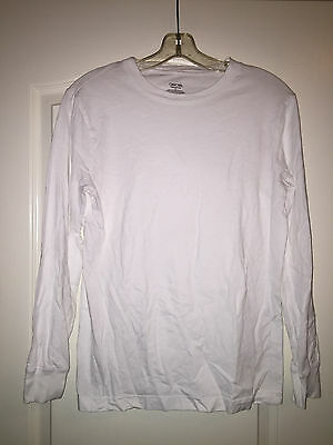 Boys Cherokee Long Sleeve White Ultimate Tshirt Size Large School Uniform