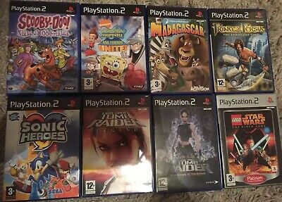 Playstation 2 Games Bundle For Kids. Christmas Present. Bargain.