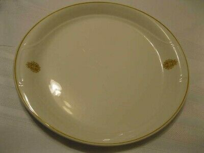 Canadian Military Armed Forces Logo Oval Serving Plate Syracuse China