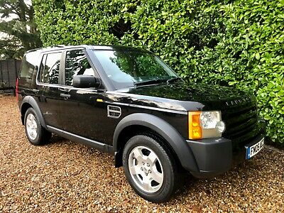 2005 Land Rover Discovery 3 2.7 Tdv6 S Automatic 7 Seater £325 Annual Tax Fsh!