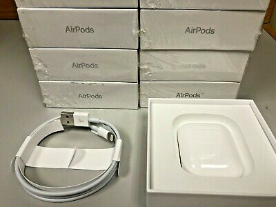 Genuine Apple Airpods 2nd Generation White w/ Wired Charging Case MV7N2AM/A GA🔥
