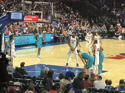 76Ers Sixers 2 Tickets Vs. New Orleans Pelicans 12/13