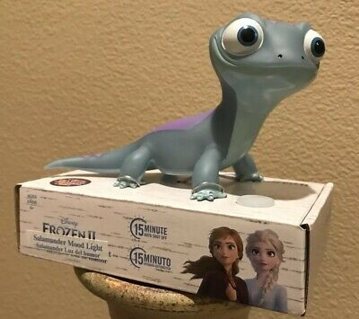 Disney FROZEN 2 Bruni Salamander Mood Light Elsa SOLD OUT *IN HAND* ❄️🔥