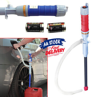 Electric Siphon  Battery Gas Fishbowl Power Oil Liquid Transfer Water Pipe Pump