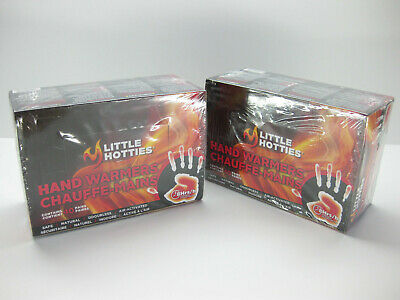 2 x 40 ct. Boxes of Little Hotties Hand Warmers - 80 Pair/160 Warmers Total!