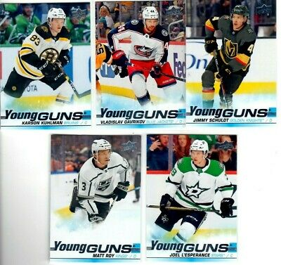 2019-20 Upper Deck Guns Pick you singles lot $2 ea. flat rate shipping
