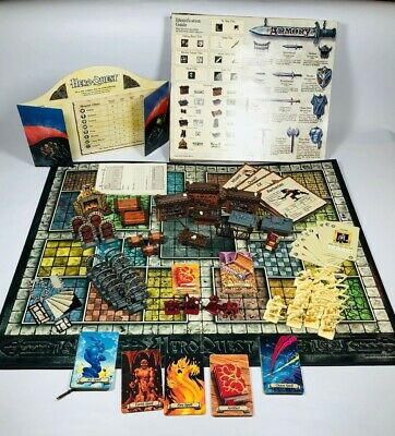 Hero Quest Board Game System 1990 Milton Bradley HEROQUEST
