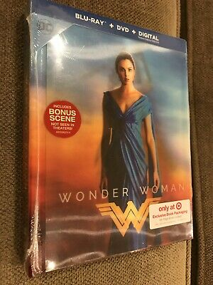 New Wonder Woman Blu-ray/DVD Lenticular Digibook Target Exclusive