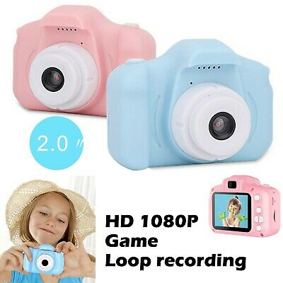 Mini Digital Video Camera Camcorder HD 1080P Game For Children Kids Xmas Gift UK