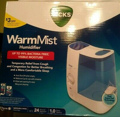 VICKS VH750 WARM Mist Humidifier £24.99 | PicClick UK