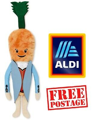 Official Aldi Kevin the Carrot 2019 Christmas Costume Plush Soft Toy