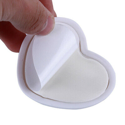 Anti-collision Household Heart Shape Door Lock Protective Wall Stick Pad LH