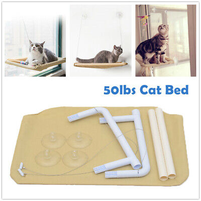 Cat Resting Seat Perch Window Hammock Cats Safety Bed with  Suction Cups 50lbsn