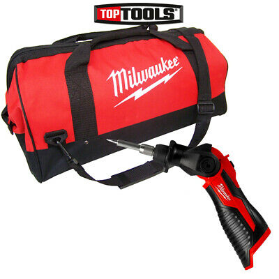 Milwaukee M12SI 12V Cordless Soldering Iron With 24 inch Tool Bag