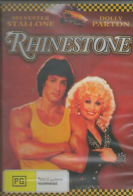Rhinestone Dolly Parton & Sylvester Stallone  New All Region New Dvd