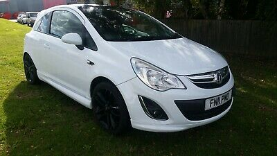 Vauxhall Corsa Limited edition 1.2 petrol 2011 white  CAT.N