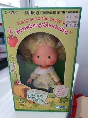 Vintage Strawberry Shortcake Lemon Meringue Doll