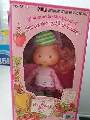 Vintage Strawberry Shortcake Raspberry Tart Doll