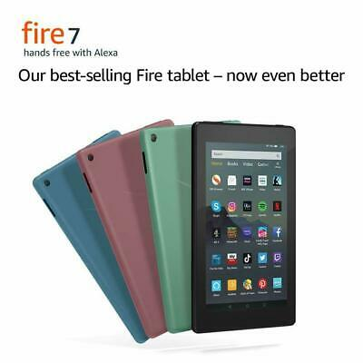 NEW AMAZON KINDLE FIRE 7 TABLET WITH ALEXA (9th Gen) 16GB - 2019 LATEST MODEL