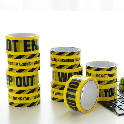Warning Tape Danger Caution Fragile Barrier Remind Sticker Safety Adhesive Tapes