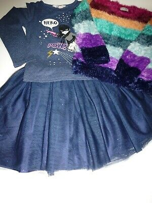 NEXT/H&M Girls Cute Little Sparkly Mix & Match Bundle - Aged 6 years