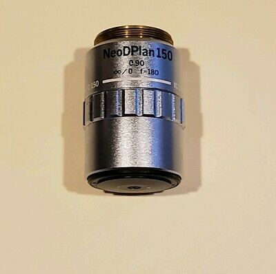 OLYMPUS NEO D PLAN IC 150 / 0.90 METALLURGICAL MICROSCOPE OBJECTIVE LENS f180