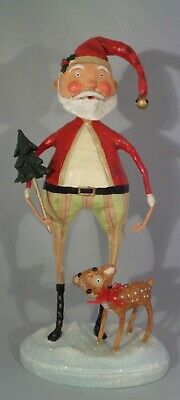 Lori Mitchell™ Santa Claus & Baby Comet Christmas Collectible Figurine #22126