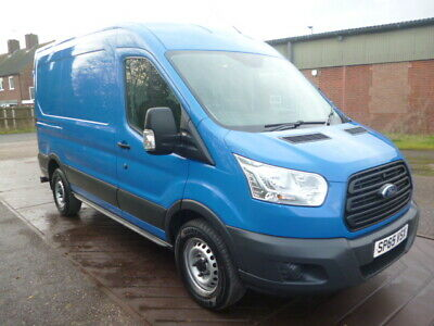 2015*Ford*Transit*Mwb*High Roof*1 Owner*Full Service*No Vat