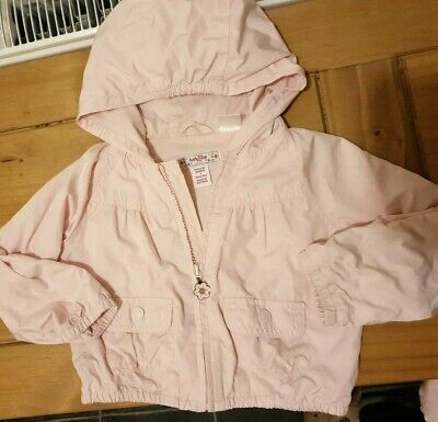 girls GAP coat bomber style with hoodie jacket 3 years excellent condition