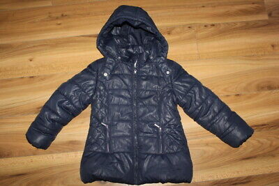 Mayoral girls navy winter coat 7 years *I'll combine postage*(22)